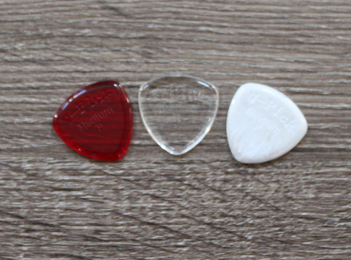 V-Picks Medium Round Pack Custom Guitar and Mandolin Pick 2.75mm