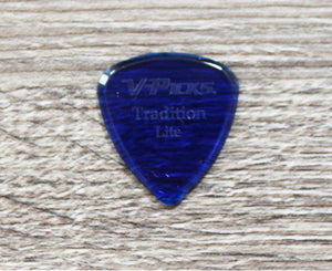 V-Picks Lite Tradition Custom Guitar Pick 1.5mm 3-Pack Sapphire - Megatone Music