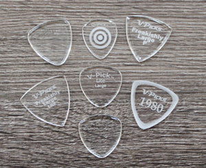 V-Picks 7-Piece Mandolin Starter Pack of Custom Picks Picks V-Picks