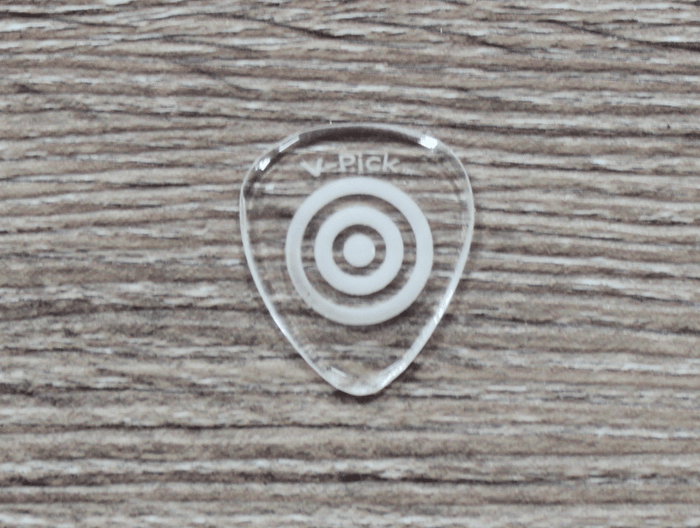 V-Picks Bullseye Custom Guitar Pick 1.5mm