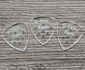 V-Picks Euro Custom Guitar Picks 1.5mm 3-Pack - Megatone Music