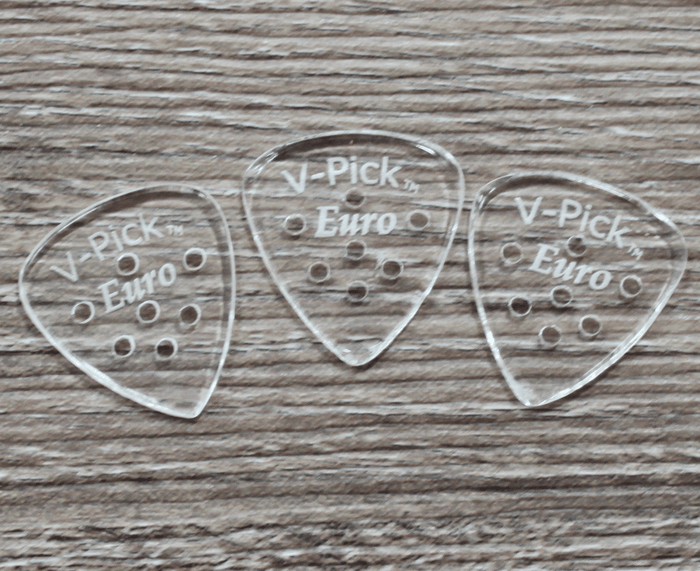 V-Picks Euro Custom Guitar Picks 1.5mm 3-Pack