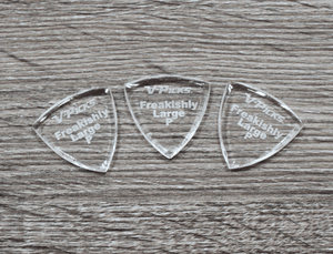 V-Picks Freakishly Large Pointed Custom Guitar Pick 2.75mm 3-Pack - Megatone Music