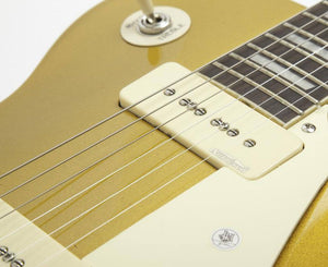 Vintage Reissue Series V100GT Gold Top Electric Guitar with P90's Electric Vintage Reissue