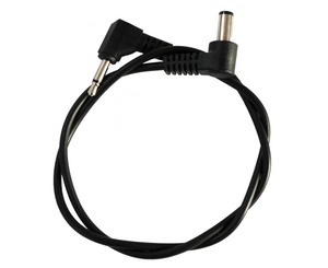 Voodoo Lab Pedal Power 3.5mm Mini Plug and 2.1 mm Right Angle Barrel Cable - Megatone Music