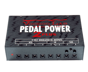 Voodoo Lab Pedal Power 2 Plus Power Supply Power Supply Voodoo Lab