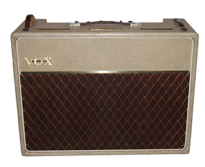 "Vox 1962 AC30 2x12"" Combo in Fawn - Amazing Original Condition! - Megatone Music"