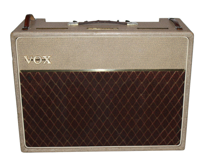 "Vox 1962 AC30 2x12"" Combo in Fawn - Amazing Original Condition!"