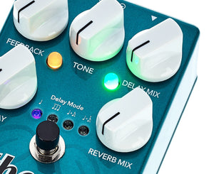 Wampler Ethereal Delay and Reverb Effects Pedal - Megatone Music
