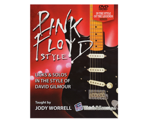 Watch and Learn Pink Floyd Style Licks and Solos - Book and 2 DVD Set - Megatone Music