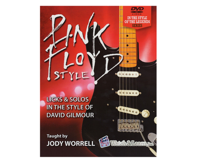 Watch and Learn Pink Floyd Style Licks and Solos - Book and 2 DVD Set