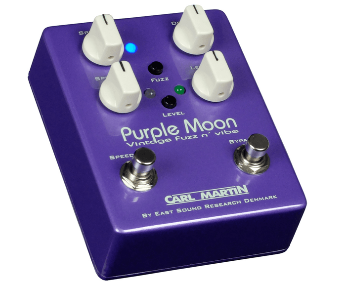 Carl Martin Purple Moon Vintage Fuzz N' Vibe Effects Pedal