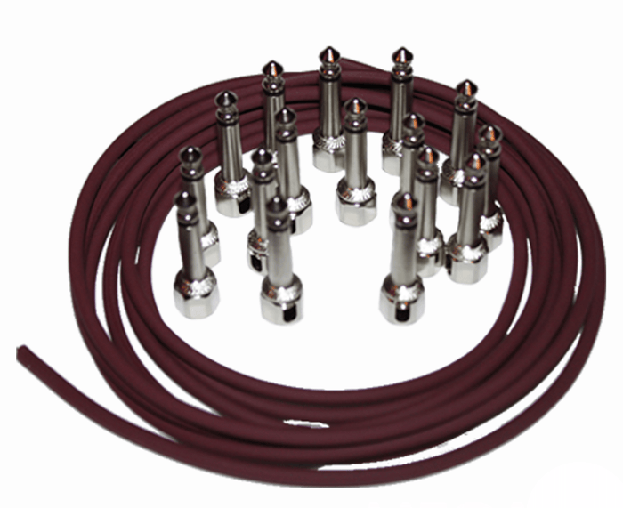 Evidence Audio Monorail 16 Pack SIS (Solderless) Pedalboard Cable Kit