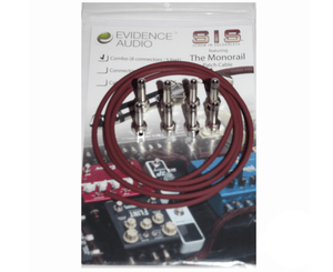 Evidence Audio  Monorail SIS (Solderless) Pedalboard Kit - 8 Plugs - Megatone Music