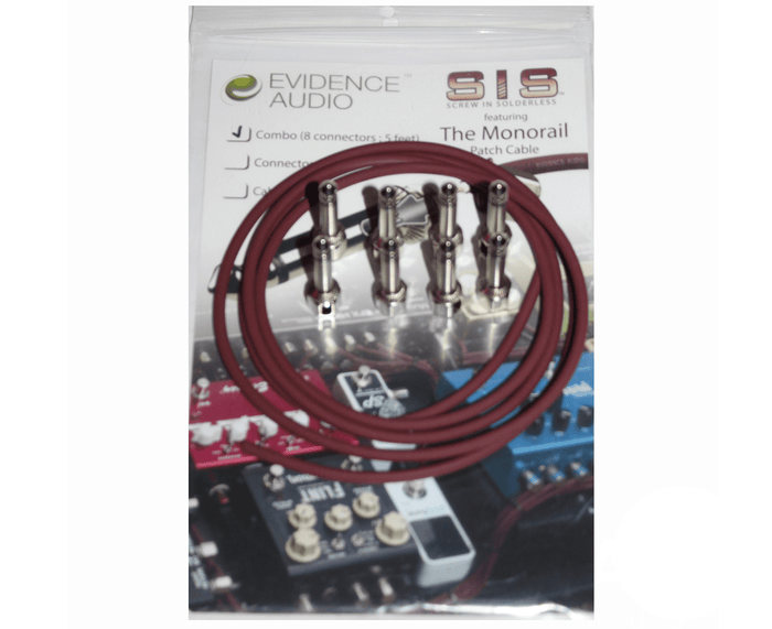 Evidence Audio  Monorail SIS (Solderless) Pedalboard Kit - 8 Plugs