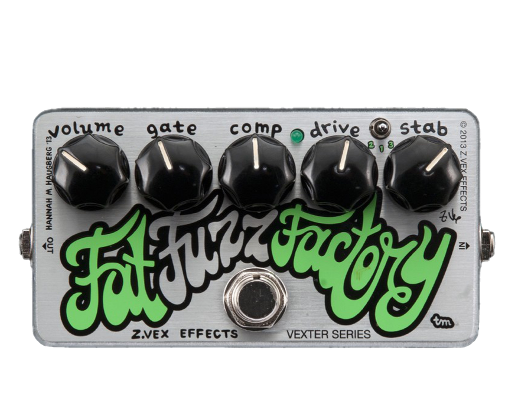 Zvex Vexter Series Fat Fuzz Factory Bass or Guitar Fuzz Pedal - Megatone Music
