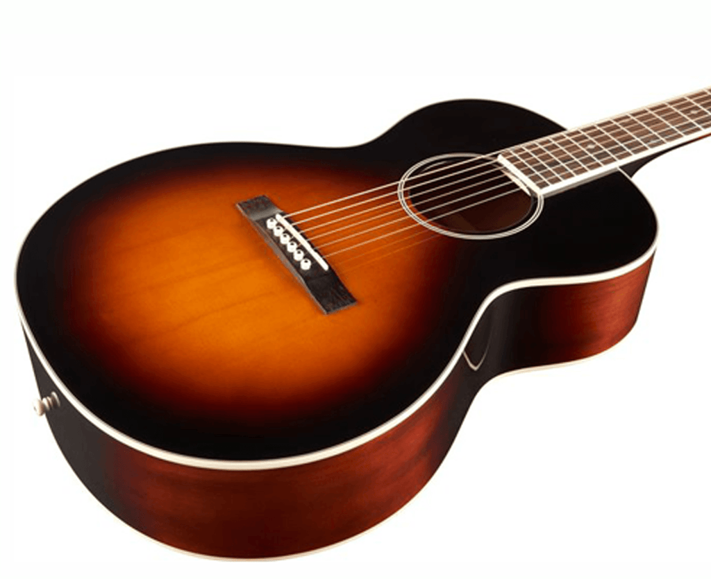 The Loar LH-250 Small Body Acoustic Guitar in Vintage Sunburst - Megatone Music