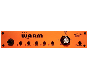 Warm Audio WA12 - Fully Discrete Mic Preamp - Megatone Music