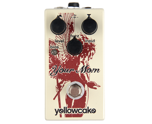Yellowcake Your Mom Germanium/Silicon Fuzz Effects Pedal - Megatone Music