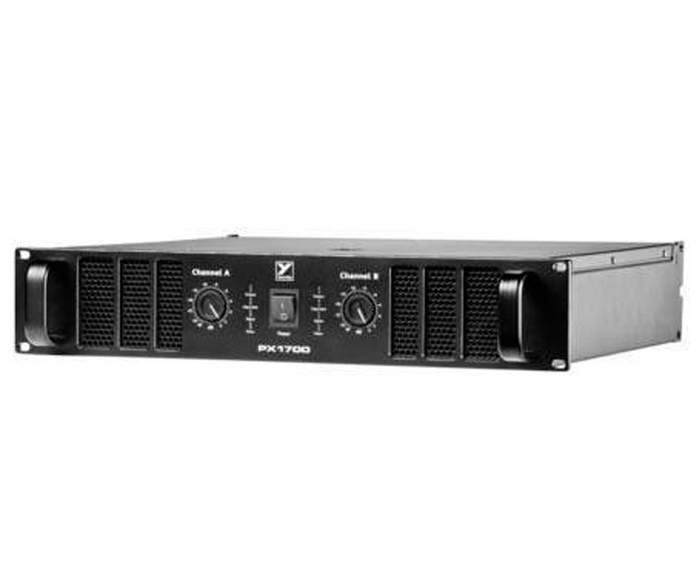 Yorkville PX1700 PX Series Power Amps 2 x 850 Watt Power Amplifier