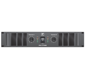 Yorkville PX1700 PX Series Power Amps 2 x 850 Watt Power Amplifier - Megatone Music