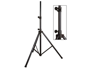 Yorkville SKS-21B Extra Large Adjustable Aluminum Speaker Stand - Megatone Music
