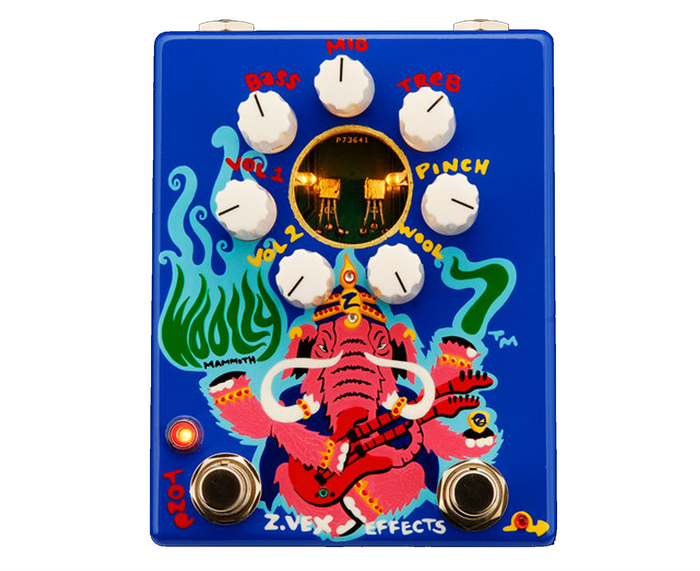 Zvex Effects Hand-Painted Woolly Mammoth 7