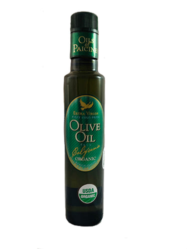SILVER MEDAL Organic Extra Virgin Olive Oil, Mission - 8.5 fl oz (250 ml)