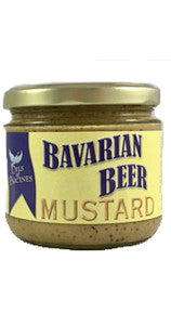 Gourmet Mustard, Bavarian Beer - Best Seller - 12 oz