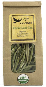 Oils of Paicines Organic Olive Leaf Tea Paicines CA
