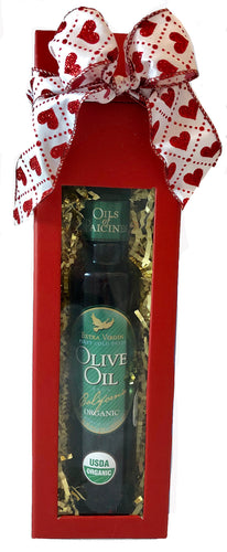 Signature Valentine Gift Box - Organic Extra Virgin Olive Oil - 250 ml