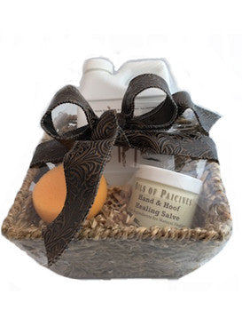 Equestrian Gift Basket - For Cowgirls & Cowboys