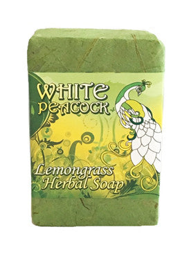 White Peacock Bar Soap, Lemongrass - 5 oz