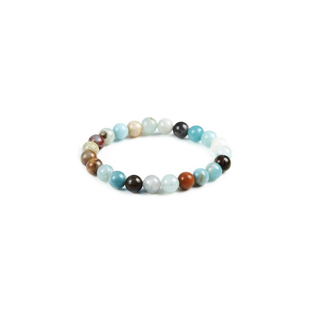 Amazonite Stone Stretch Bracelet