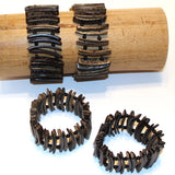 Coconut Bracelet - Boardwalk - Natural Artist