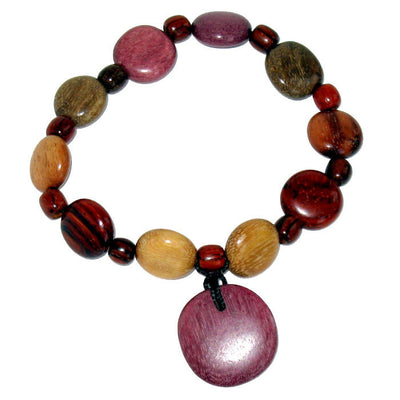 Wood Bracelet - Token of Love - Natural Artist