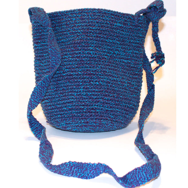 Mayan Bag - Blue - Natural Artist