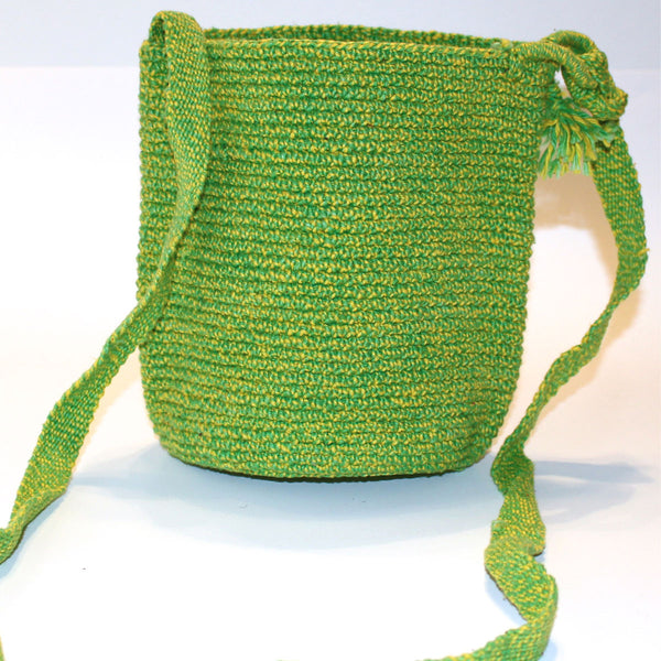 Mayan Bag - Lemon Lime - Natural Artist