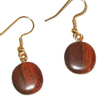 Rosewood Earrings - Mon Petit - Natural Artist