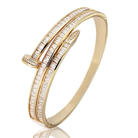 DOUBLE ROW BANGLE