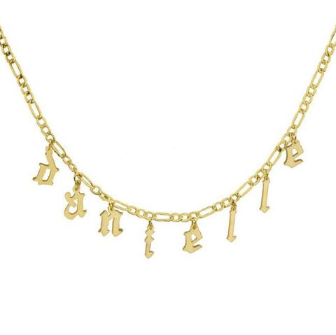 MULTI NAMEPLATE NECKLACE