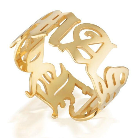 LUXE PANTHER RING