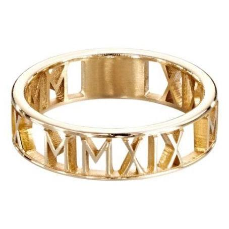 PERSONALIZED BAND RING