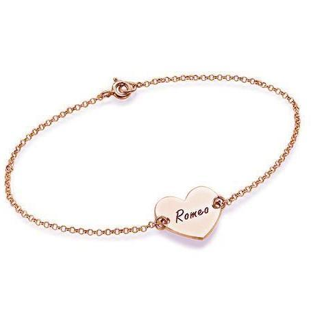 FLOATING HEART BRACELET