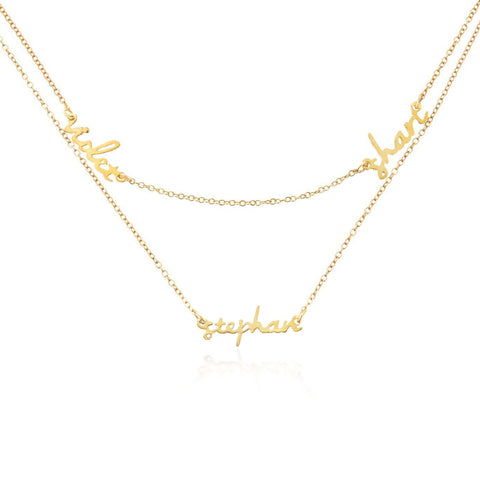 SINGLE LETTER CHOKER UPPERCASE