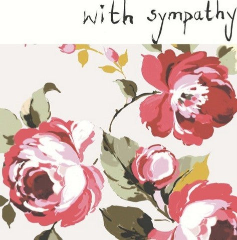 With Sympathy - Blank