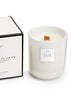 Sohum Wood Wick Eco Candle - Cotton Flower
