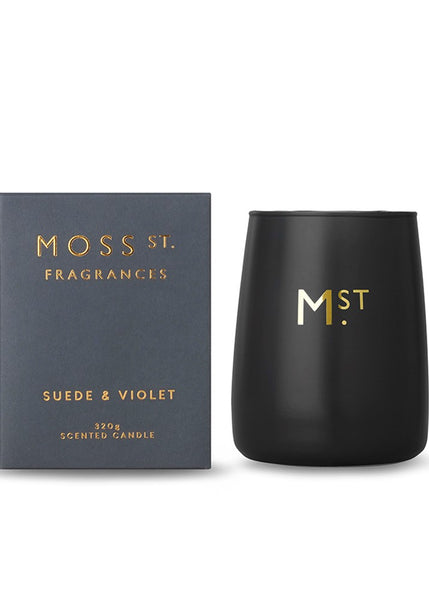 Moss St Candle - Suede & Violet