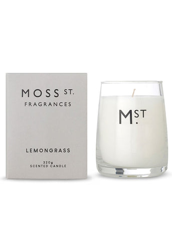 Moss St Candle - Lemongrass