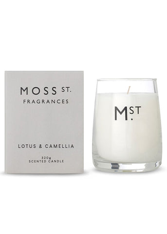 Moss St Candle - Lotus & Camelia